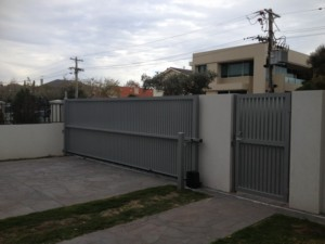 Electric Aluminium Sliding Gate