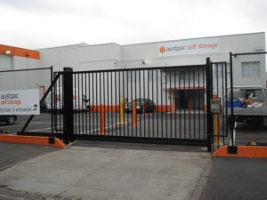 Cantilever Gate - Self Storage Complex
