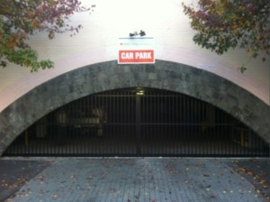 Carpark Dual Sliding Gates