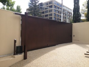 Automatic Sliding Telescopic Gate Toorak