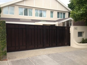 Automatic Telescopic Gate Toorak