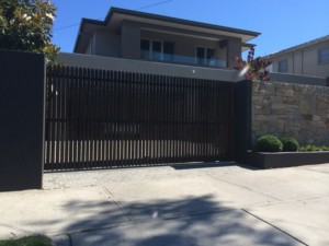 Automatic Sliding Gate Black Rock