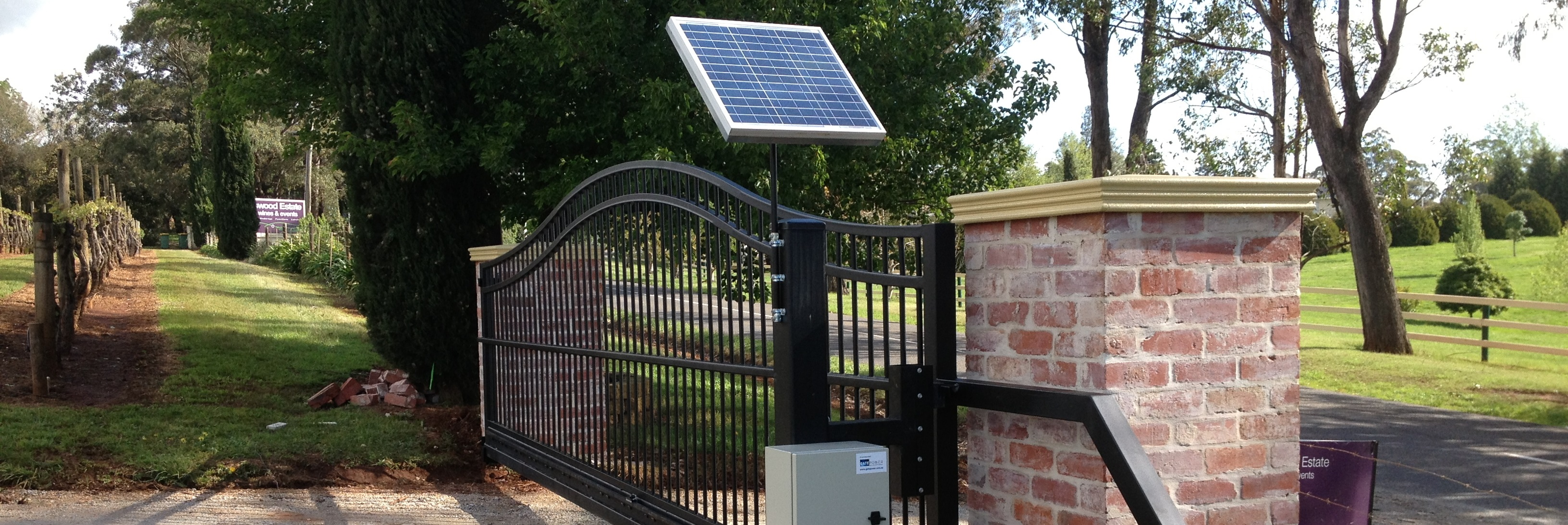 Driveway Gates Commercial Gates Intercom Systems