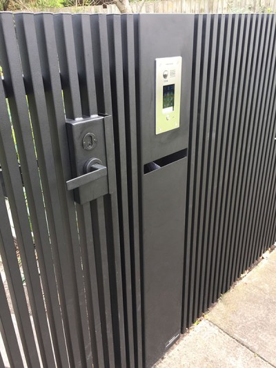 gate intercom system