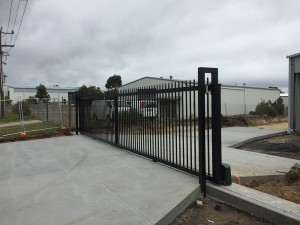 Industrial Sliding Gate installed in Ballarat